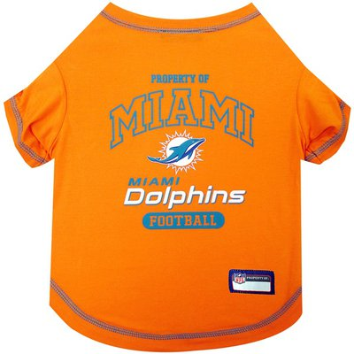Pets First Small Miami Dolphins T Shirt