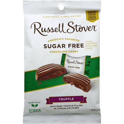 Russell Stover Truffle, Sugar Free
