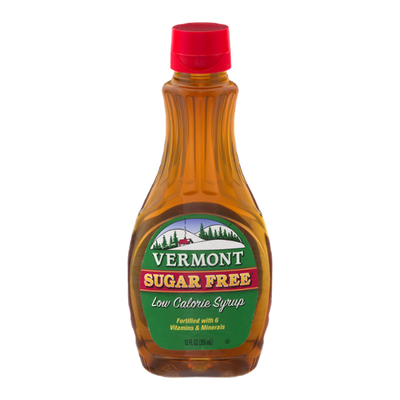 Vermont Creamery Sugar Free Low Calorie Syrup