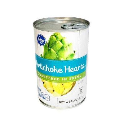 Kroger Artichoke Hearts Quartered In Brine