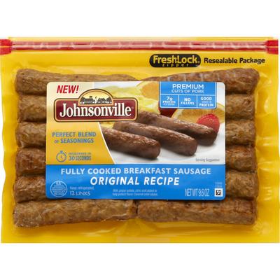 Johnsonville Sausage Fully Cooked Breakfast Sausage Original Recipe