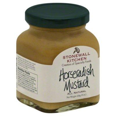 Stonewall Kitchen Mustard, Horseradish, Jar
