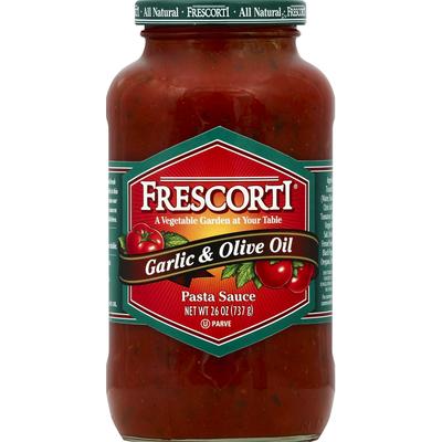 Frescorti Pasta Sauce, Garlic & Olive Oil