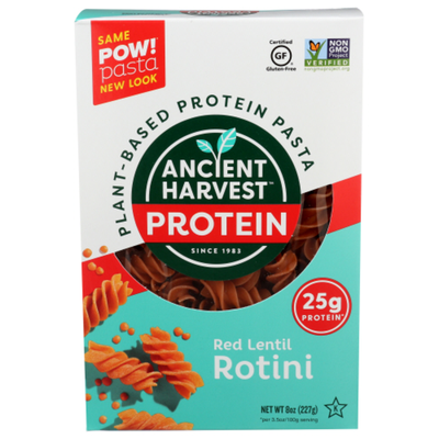 Ancient Harvest Rotini, Red Lentil