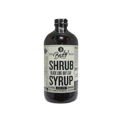 Burly Beverages Black Lime-Bay Leaf Shrub Syrup