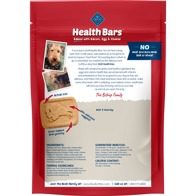 Blue Buffalo Biscuits for Dog, Original