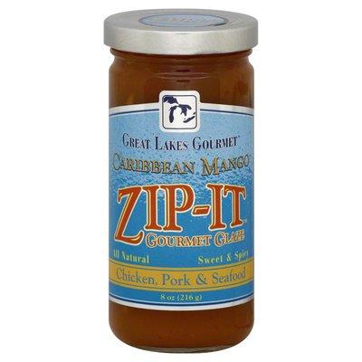 Zip It Gourmet Glaze, Caribbean Mango