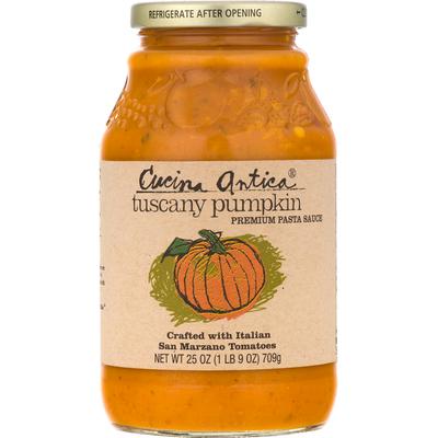 Cucina Antica Pasta Sauce, Premium, Tuscany Pumpkin