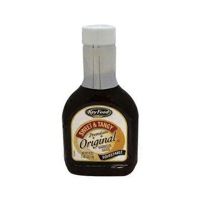 Key Food Premium Original Barbecue Sauce, Sweet & Tangy
