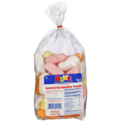 Howe Assorted Marshmallow Peanuts Candy