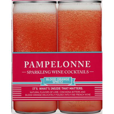 Pampelonne Sparkling Wine Cocktails, Blood Orange Spritz