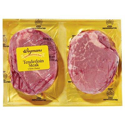 Wegmans Beef Tenderloin Steak