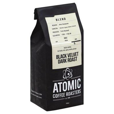 Atomic Coffee Roasters Coffee, Whole Bean, Dark Roast, Black Velvet