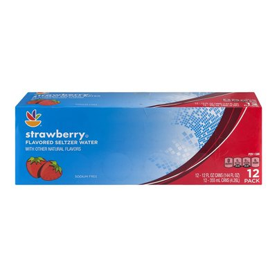 SB Flavored Seltzer Water - 12 PK