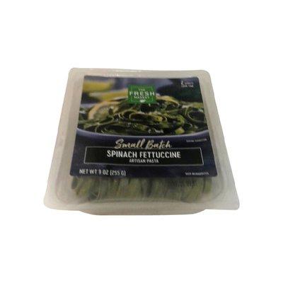 The Fresh Market Spinach Fettuccine Artisan Pasta