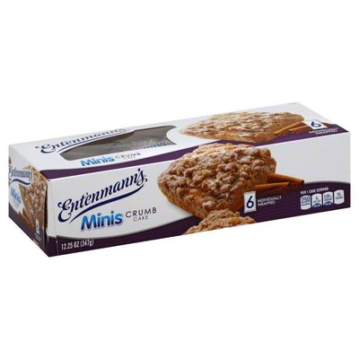 Entenmann's Minis Crumb Snack Cakes