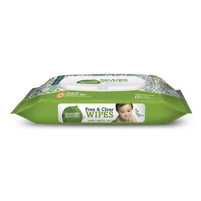 Seventh Generation Baby Wipes Travel Pack With Flip-top Dispenser Free & Clear