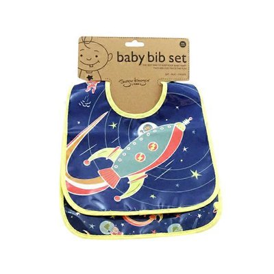 Sugarbooger Mini Bib Gift Outerspace