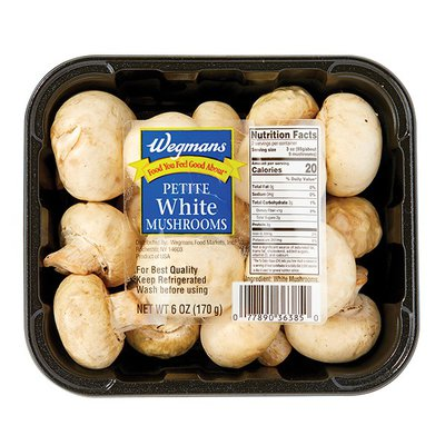 Wegmans Food You Feel Good About Petite White Mushrooms