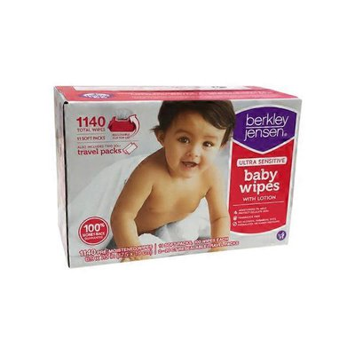 BJ's Ultra Sensitive Baby Wipes With Lotion