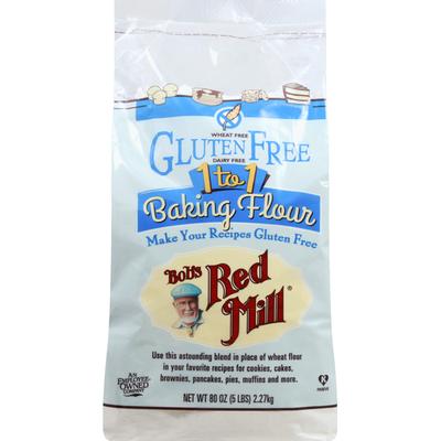 Bob's Red Mill Baking Flour, 1 to 1, Gluten Free