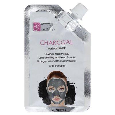 Global Beauty Care Wash-Off Mask, Charcoal