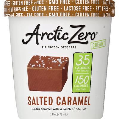 Arctic Zero Non-Dairy Frozen Desserts Salted Caramel