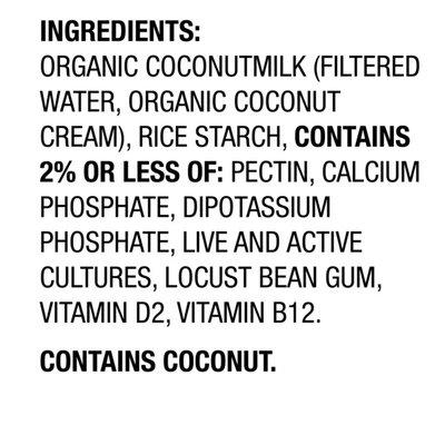 So Delicious Dairy Free Unsweetened Plain Coconut Milk Yogurt