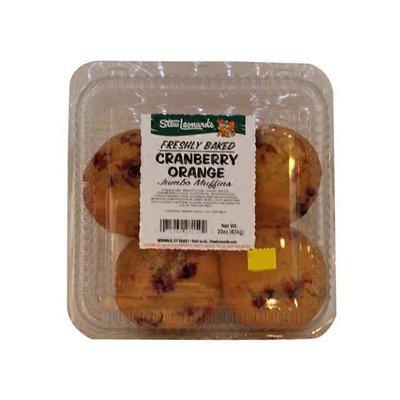 Jumbo Cranberry Orange Muffin