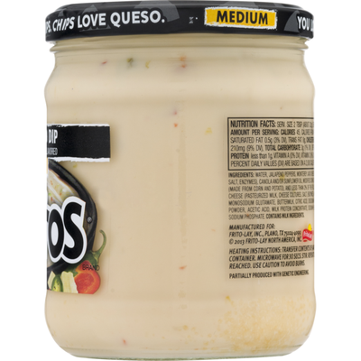 Tostitos Queso Blanco Dip, Medium