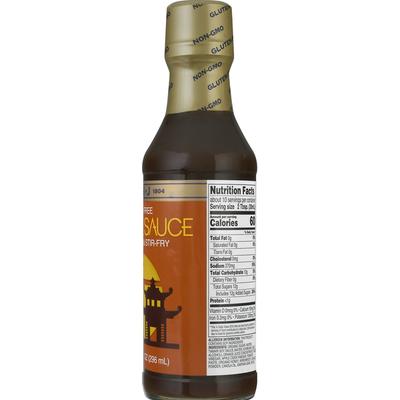 San-J Asian Glaze & Stir-Fry, Gluten Free, Orange Sauce