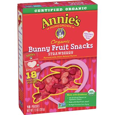 Annie's Valentine's Day Organic Bunny Fruit Snacks