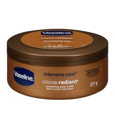 Vaseline Body Butter Lotion Cocoa Radiant
