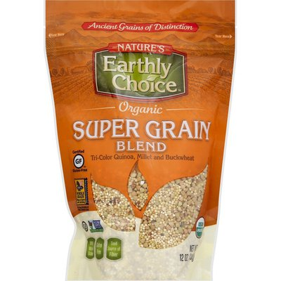 Nature's Earthly Choice Super Grain Blend, Organic