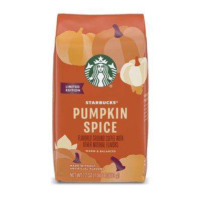 Starbucks Flavored Ground Coffee - Pumpkin Spice
