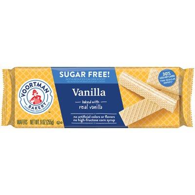 Voortman Sugar Free Vanilla Wafer Cookies