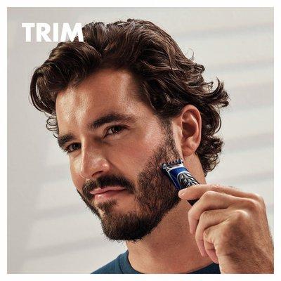 Gillette All Purpose Styler: Beard Trimmer, Fusion Razor & Edger For