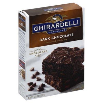 Ghirardelli Chocolate Dark Chocolate Premium Brownie Mix