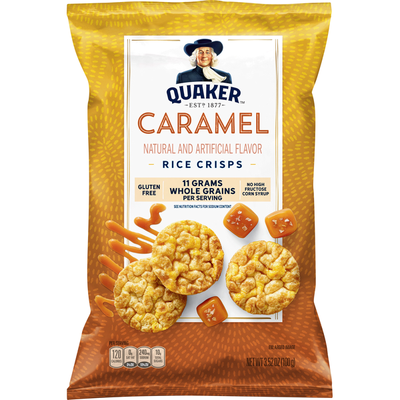 Quaker Caramel Corn Rice Crisps