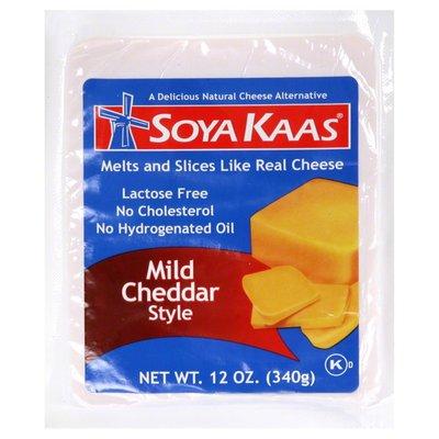 Soya Kaas Cheese Alternative, Natural, Mild Cheddar Style