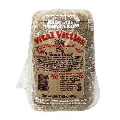 Vital Vittles 9 Grain Bread