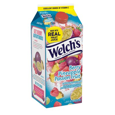 Welch's Berry Pineapple Passion Fruit