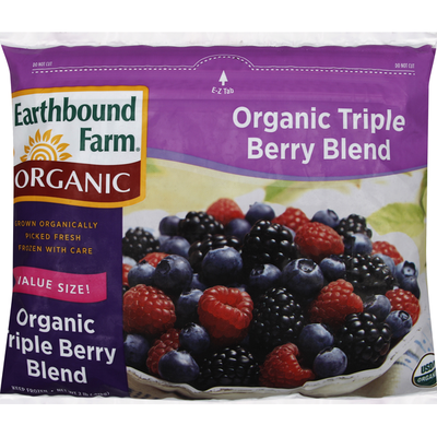 Earthbound Farms Triple Berry Blend, Organic, Value Size
