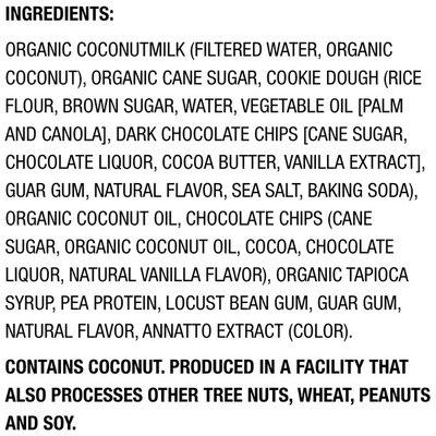 So Delicious Dairy Free Cookie Dough Coconut Milk Frozen Dessert
