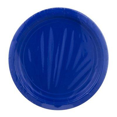 Amscan Plates Bright Royal Blue 9 Inch - 20 CT