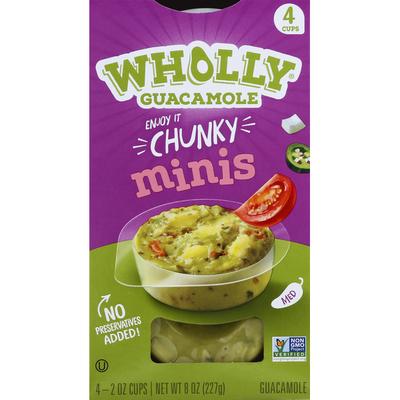 Wholly Guacamole Chunky Guacamole Minis