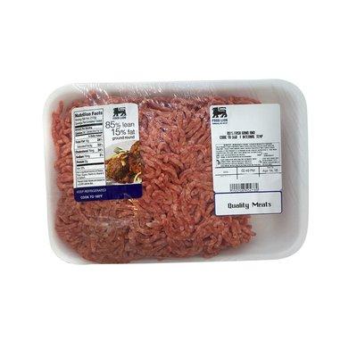 Food Lion Fesh Ground Round, 85% Lean/15% Fat
