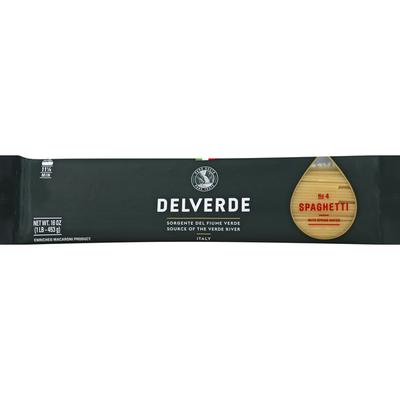 Delverde Spaghetti, No. 4