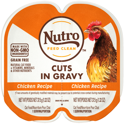NUTRO Cuts in Gravy Chicken Recipe Cat Food