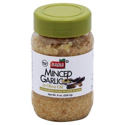 Badia Spices Garlic Minced In Olive Oil